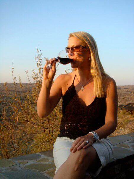 Even Namibia has good wine